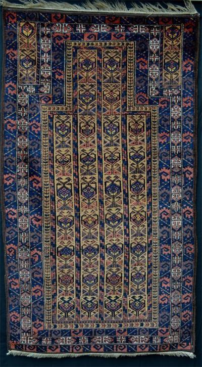 Antique Baluchi Oriental Rug