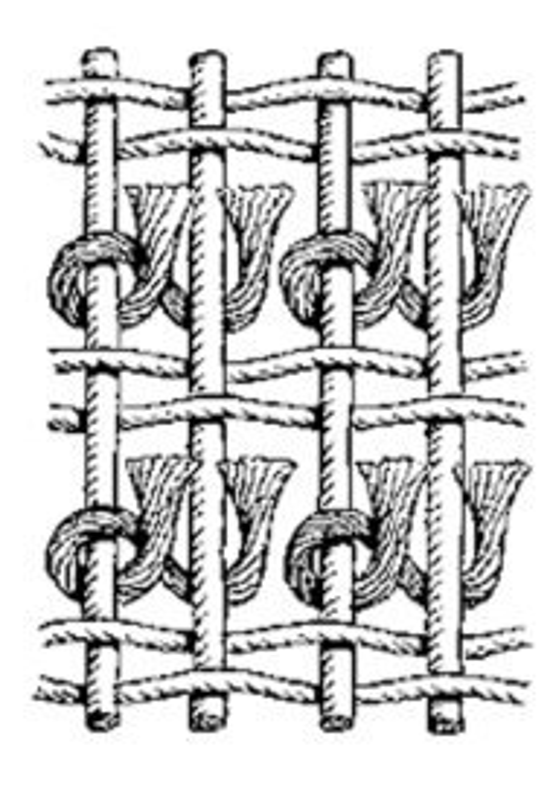 Asymmetric Persian Knot