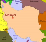 Malayer area-Iran