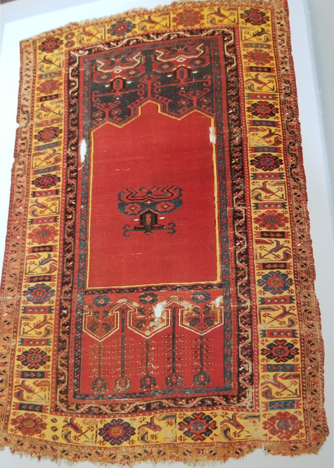 Antique Ladik Rug-18th Century