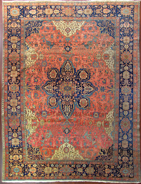 Antique Mohtasham Kashan