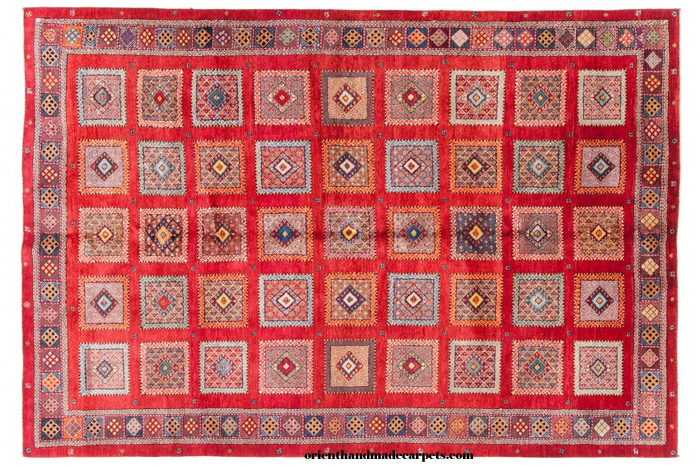 Persian Luribaft Gabbeh Rug
