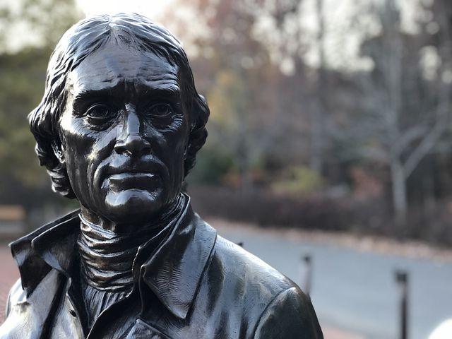Thomas Jefferson in Bronze