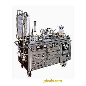 Gibbon Heart-Lung Machine