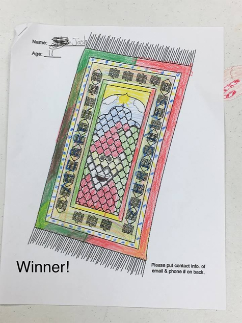 Coloring Contest Winner