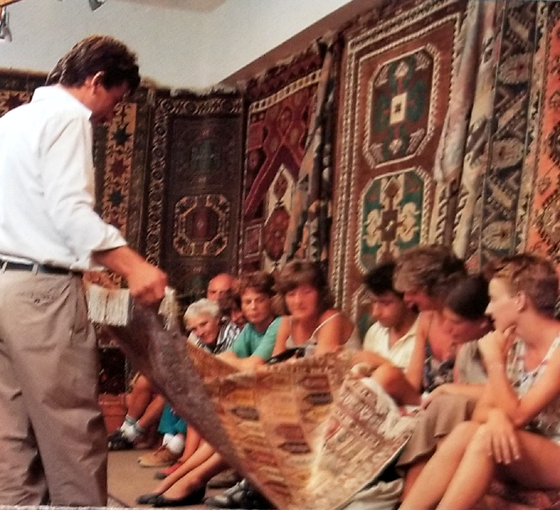Traditional Turkish Rug Demo