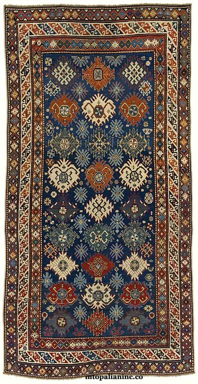 Derbend Oriental Rug - Late 19th Century