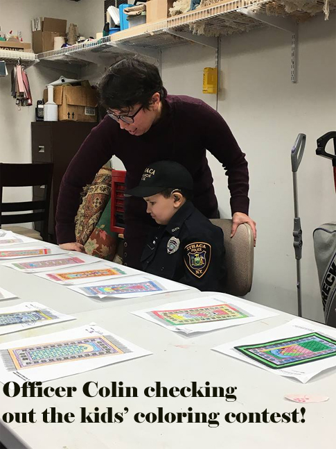 Officer Colin of the Ithaca Police Force