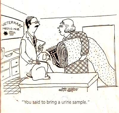 Urine Sample Joke