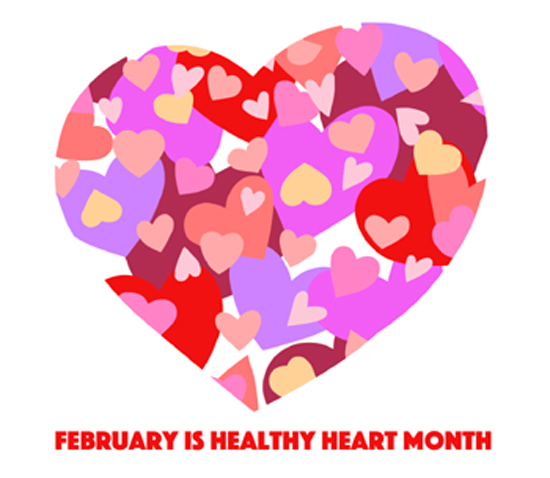 February is Happy Heart Month