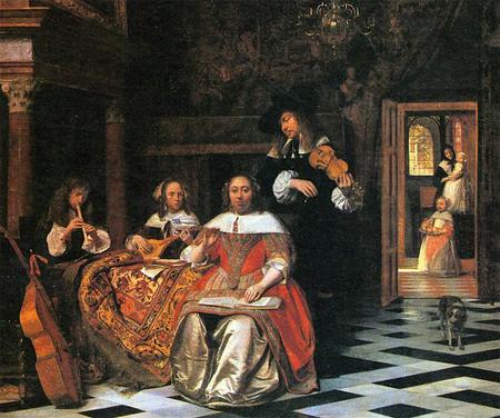 17th Century Dutch Artist Pieter de Hooch