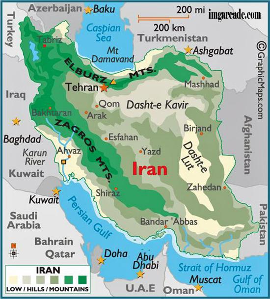 Zagros Mountain Area of Iran