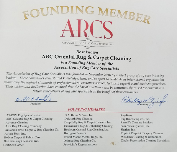 ARCS Founding Members