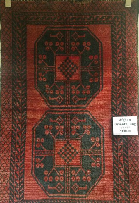 Afghan Oriental Rug for Sale