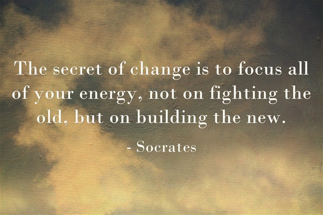 The Secret of Change Quote