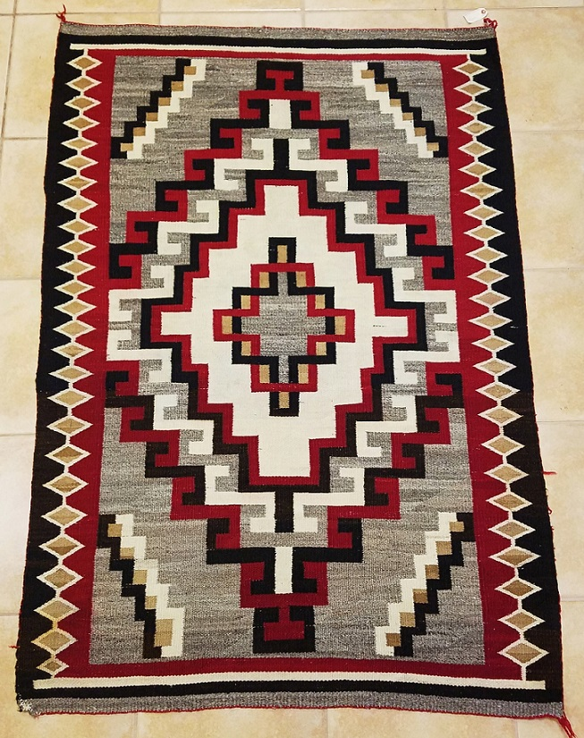 Early Navajo Kalegeto Rug for Sale