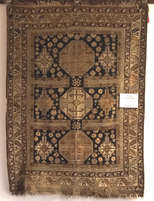 Antique Caucus Oriental Rug for Sale