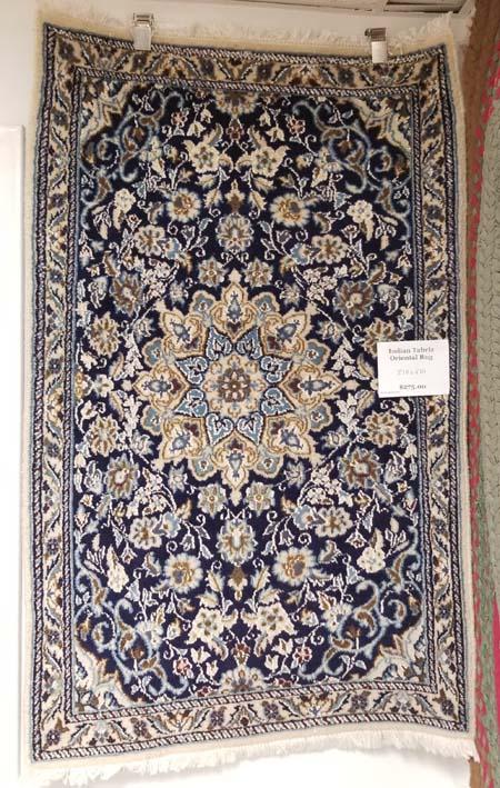 India Tabriz Oriental Rug for Sale