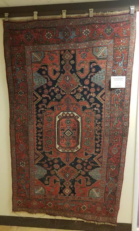 Kurdish Bidjar Oriental Rug for Sale
