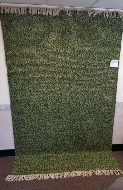 Wool Berber Style Flatwoven Rug for Sale