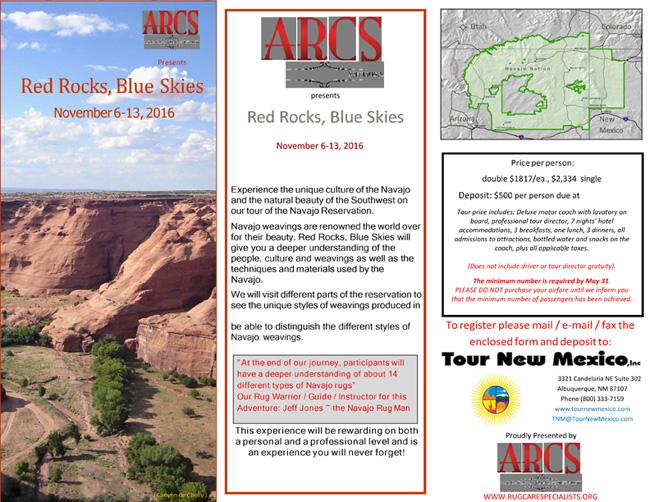 Navajo Rug Study Tour Page 1
