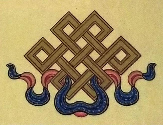 The 8 Auspicious Emblems-The Endless Knot
