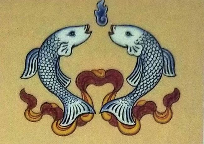 The 8 Auspicious Emblems-The Golden Fish