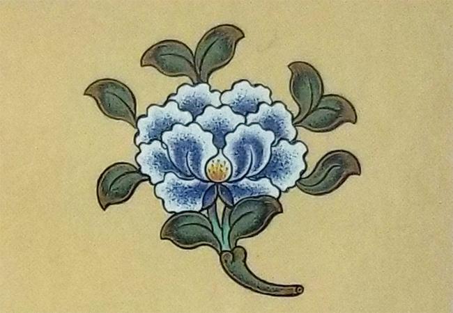 The 8 Auspicious Emblems-The Lotus Flower