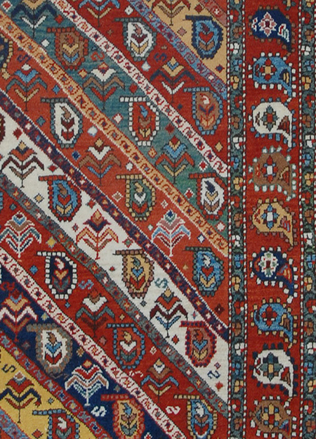 Antique Gendje Rug Pattern