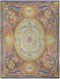 Antique Aubusson Rug