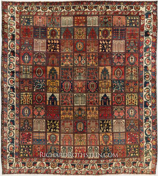 Bakhtiari Oriental Rugs