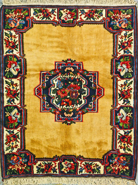 Bakhtiari Oriental Rug - Contemporary