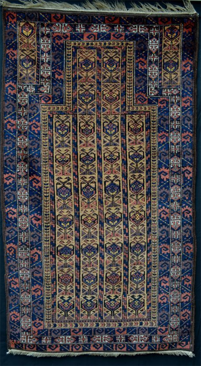 Antique Baluchi Oriental Rug