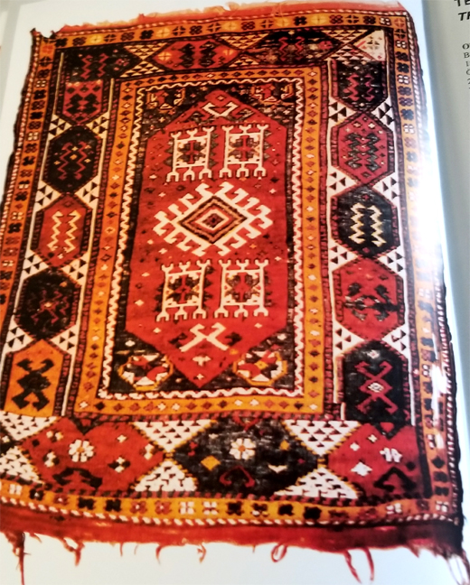 Bergama Oriental Rug 18th Century
