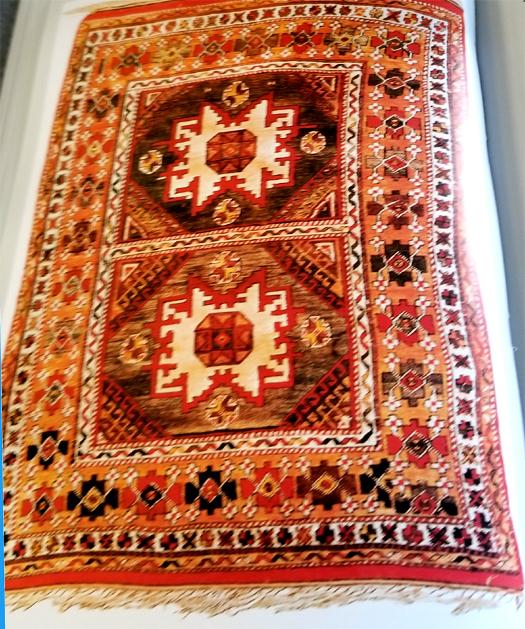 Bergama Oriental Rug-18th Century