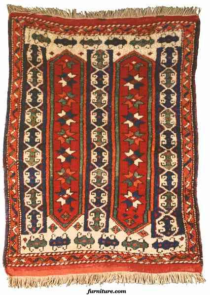 Bergama Oriental Rug-19th Century