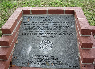 Code Talkers Monument-Ocala, Florida