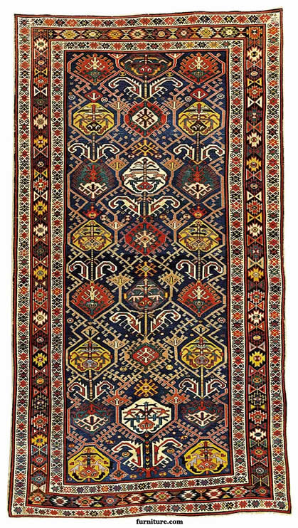 Derbend Oriental Rug - Late 19th Century