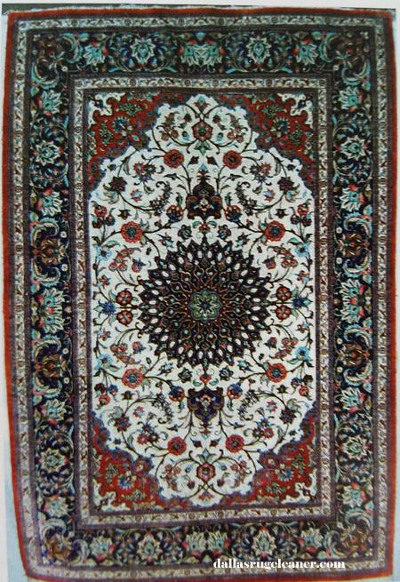 Silk Qum Oriental Rug