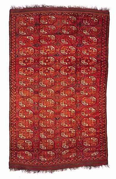The Dodds Turkmen Ersari rug