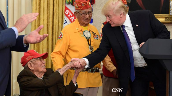 Fleming Begaye Sr.-Navajo Code Talker