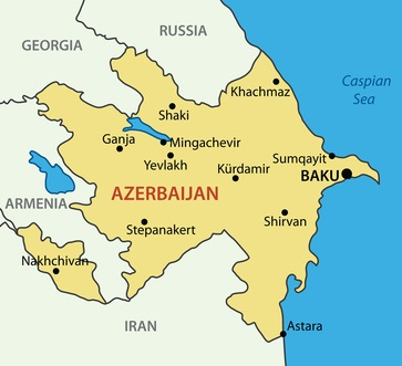 Map of Shirvan Region