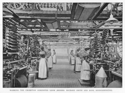 Carpet Making 1902