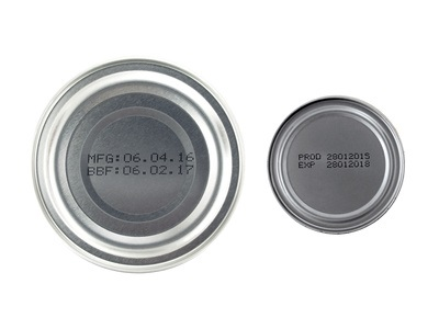 Food Expiration Dates on Canned Goods