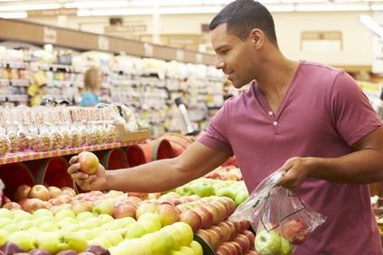 Man Choosing Fruit