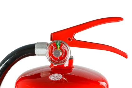 Needle Gauge on Fire Extinguisher