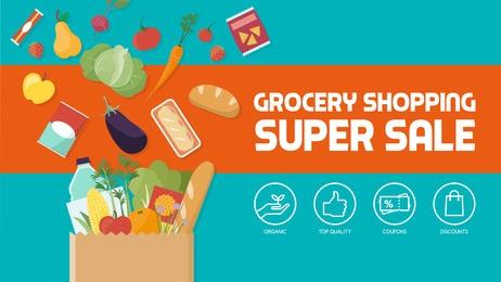 Grocery Super Sale