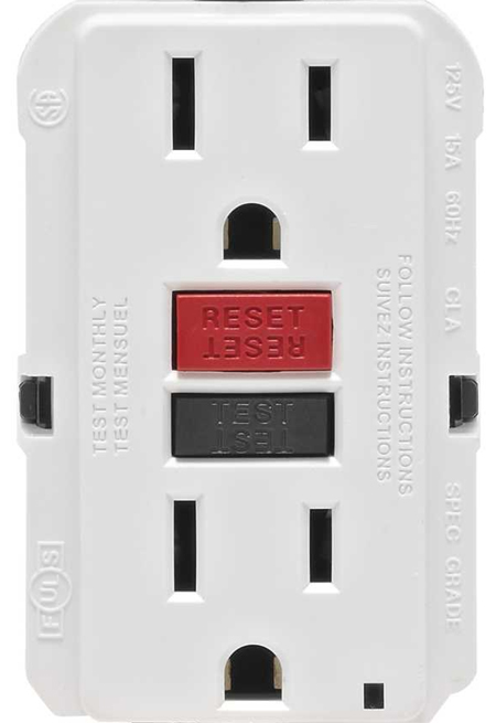 GFCI Grounded Outlet