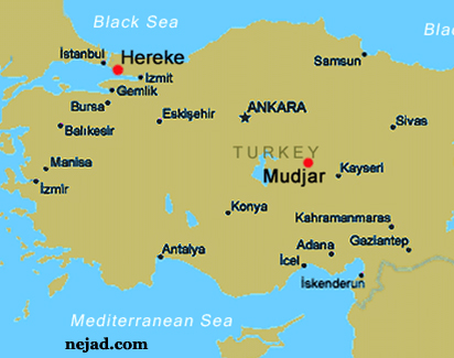 Map of Hereke