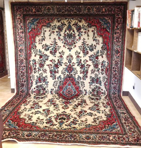 Iranian Kasvin Oriental Rug for Sale